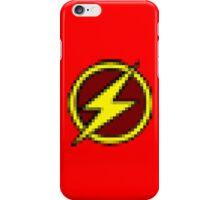 8-Bit Flash Logo iPhone Case/Skin