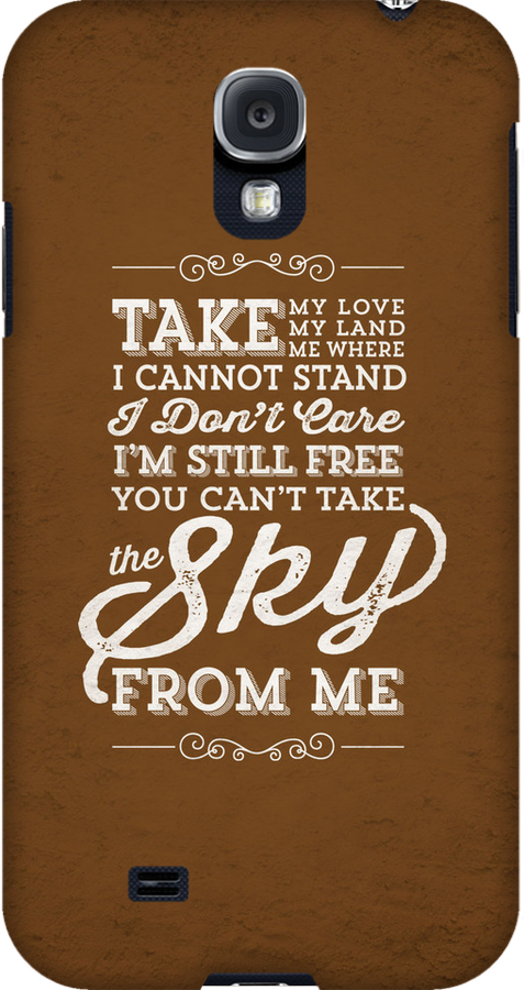 You Can't Take The Sky From Me by JenSnow