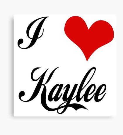 Firefly: I love Kaylee Canvas Print