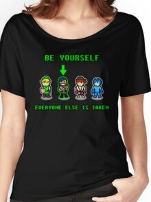 Be Yourself. Everyone Else Is Taken. Women's Relaxed Fit T-Shirt