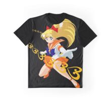 Sailor Moon -  Sailor Venus attack Graphic T-Shirt