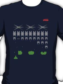 Battlestar Galactica Space Invader T-Shirt