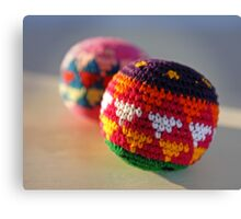 Knit and Roll Canvas Print