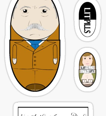 LitPills - Sir Arthur Conan Doyle (Classics Series) Sticker