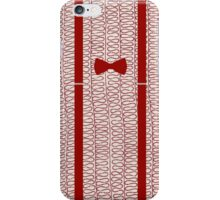 11th Doctor -  Bow-tie and Braces iPhone Case/Skin