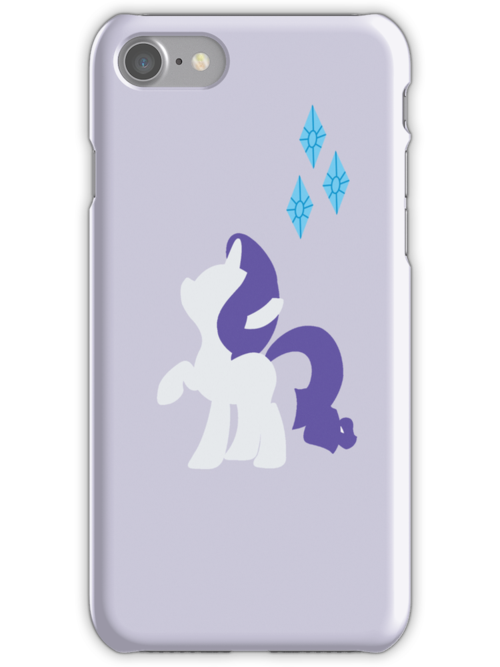 Simple Rarity iPhone Case by TehCrimzonColt
