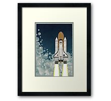 Space Shuttle Framed Print