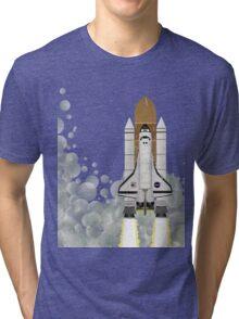 Space Shuttle Tri-blend T-Shirt