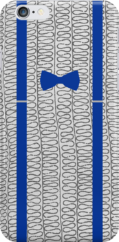 11th Doctor -  Bow-tie and Braces (Blue) by Frazer Varney