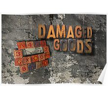damaged goods calendar front cover Poster
