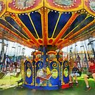 Carnival - Super Swing Ride by Susan Savad