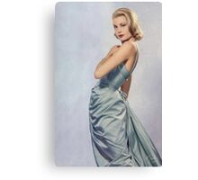 Grace Kelly- Queen of Grace Canvas Print