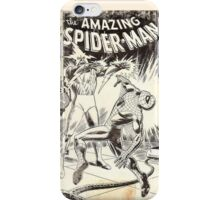 Weathered Spider-Man iPhone Case/Skin