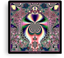 Psychedelic Dreams Fractal Canvas Print