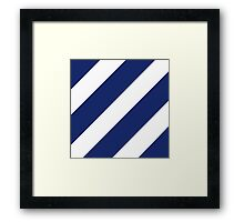 Logo of the 3rd Infantry Division, U. S. Army Framed Print