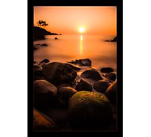 Sunset in Goa Photographic Print