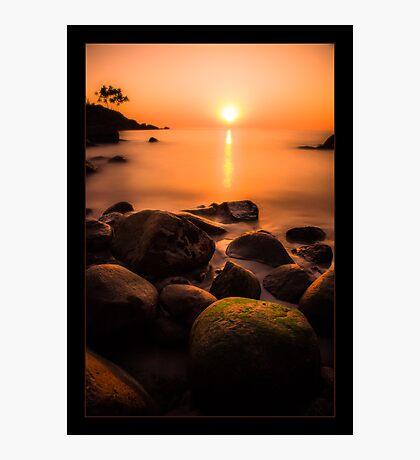 Sunset in Goa Photographic Print