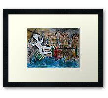 Lonely Funeral Framed Print