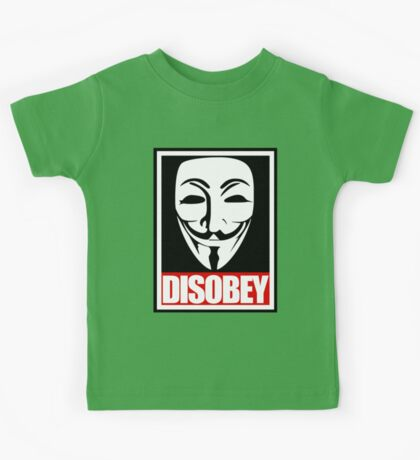Disobey Vendetta Kids Tee
