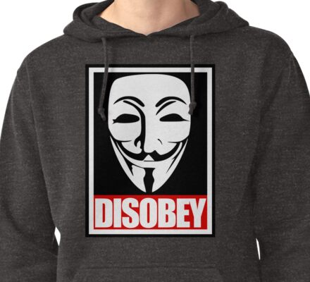 Disobey Vendetta Pullover Hoodie