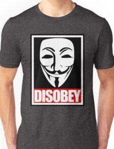 Disobey Vendetta Unisex T-Shirt
