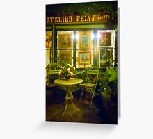 Gallery Bistro Greeting Card