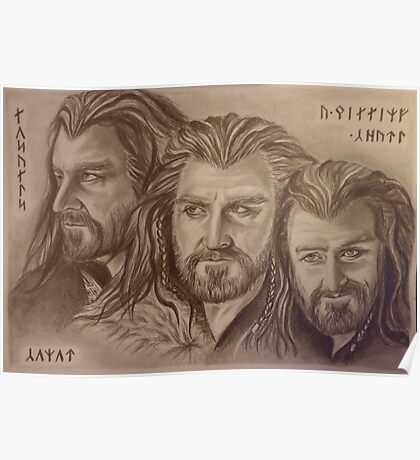 Thorin Oakenshield, a willing heart... Poster