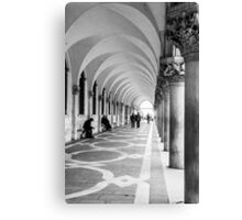 Underneath the archway Canvas Print