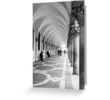 Underneath the archway Greeting Card