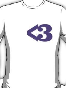 Metamodern Love - Purple Heart T-Shirt