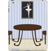 interior of cafe iPad Case/Skin