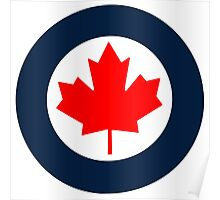 Royal Canadian Air Force Roundel Poster