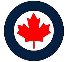 Royal Canadian Air Force Roundel Photographic Print