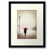 Leaving so soon Framed Print