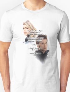 Doctor Who: Hey There Rose Tyler (not Delilah) T-Shirt