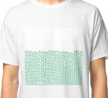 Half Knit Mint Classic T-Shirt