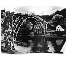 Ironbridge- the white house Poster
