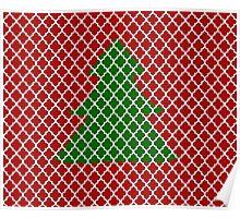 Christmas Trellis Poster