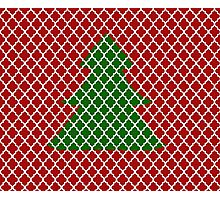 Christmas Trellis Photographic Print