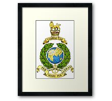 The Corps of Royal Marines Logo Framed Print