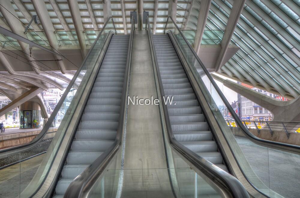 Escalator by Nicole W.