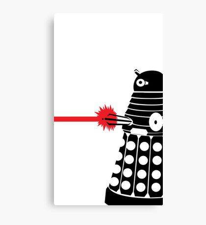 Dalek Illo Canvas Print