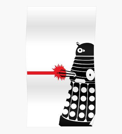Dalek Illo Poster