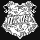 Stylised Hogwarts Crest by wolvenhalo