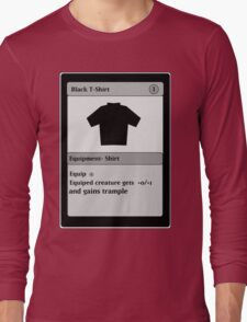 Magic Card Funny T Shirt Long Sleeve T-Shirt