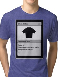 Magic Card Funny T Shirt Tri-blend T-Shirt