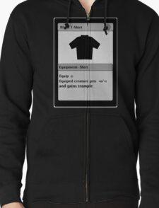 Magic Card Funny T Shirt Zipped Hoodie