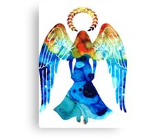 Guardian Angel - Spiritual Art Paitning Canvas Print