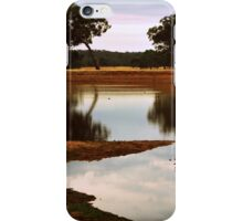 Summer at the Dam by Lorraine McCarthy iPhone Case/Skin