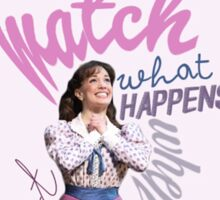 Newsies - Watch What Happens Sticker